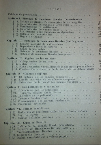 curso de álgebra superior a. g. kurosch
