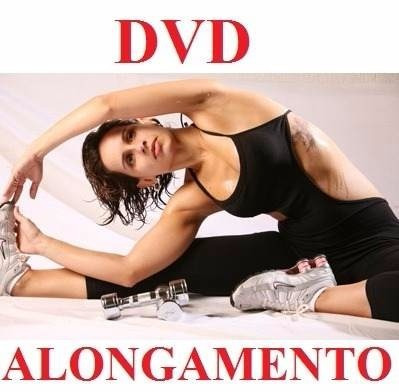 curso de alongamento aulas em 1 dvd çlk