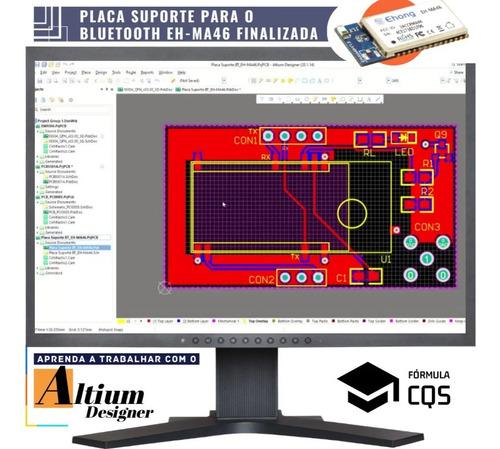 curso de altium designer + biblioteca integrada