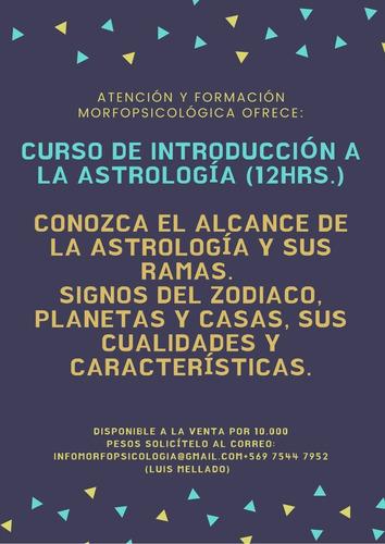 curso de astrología (12h)