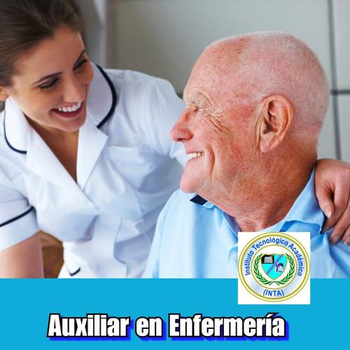 curso de auxiliar en enfermería