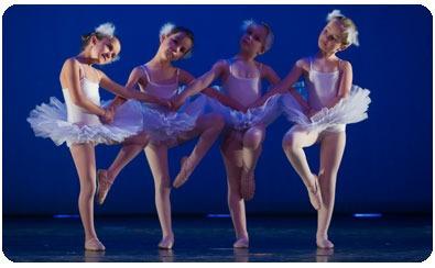 curso de ballet para niñas y jóvenes