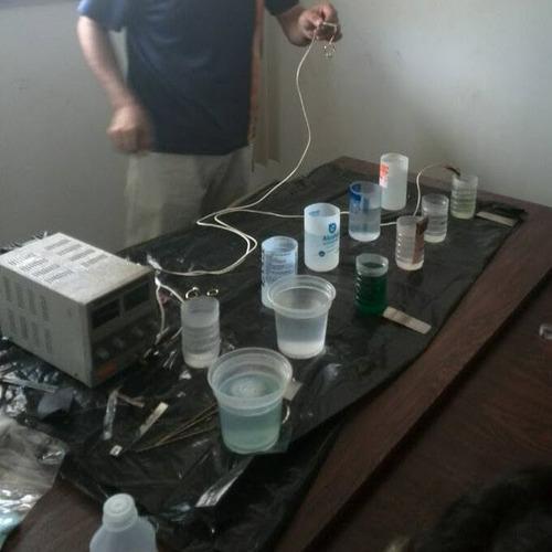 curso de baño electroliticos