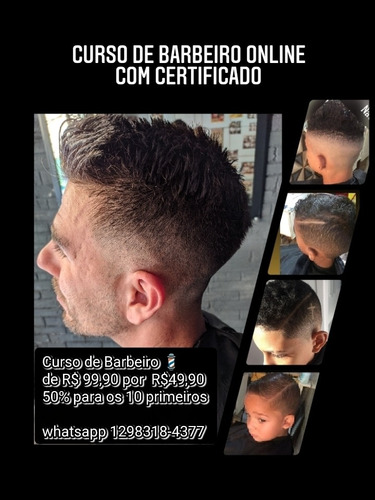 curso de barbeiro com certificado
