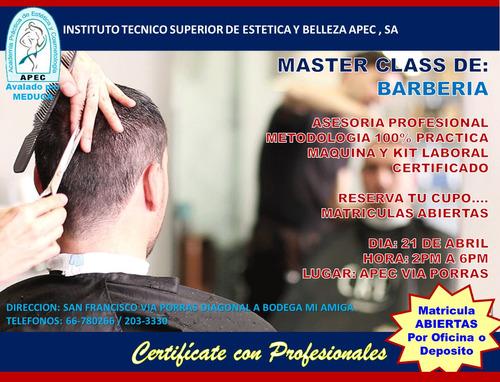 curso de barbería profesional