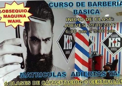 curso de barbería totalmete practico