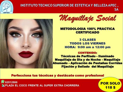 curso de belleza profesional, apec
