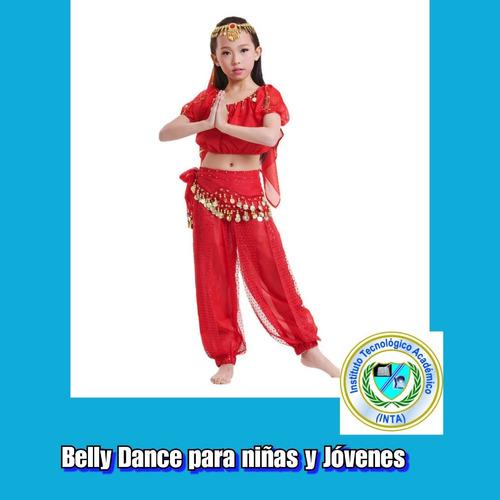 curso de belly dance para niñas y jóvenes
