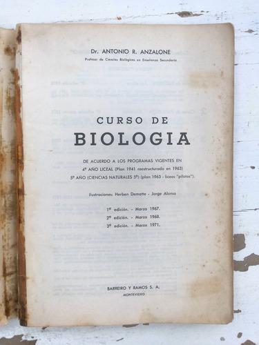curso de biología - anzalone