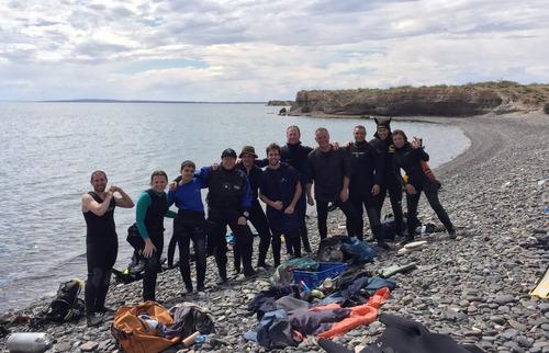 curso de buceo en neuquen - vaca muerta diving