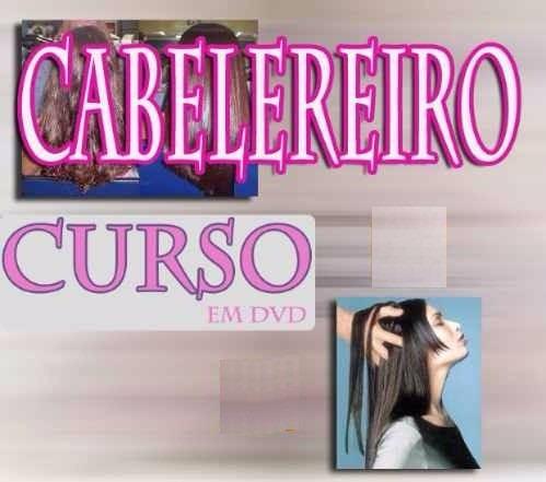 curso de cabeleireiro, cabelo! aulas em 11 dvds! mki