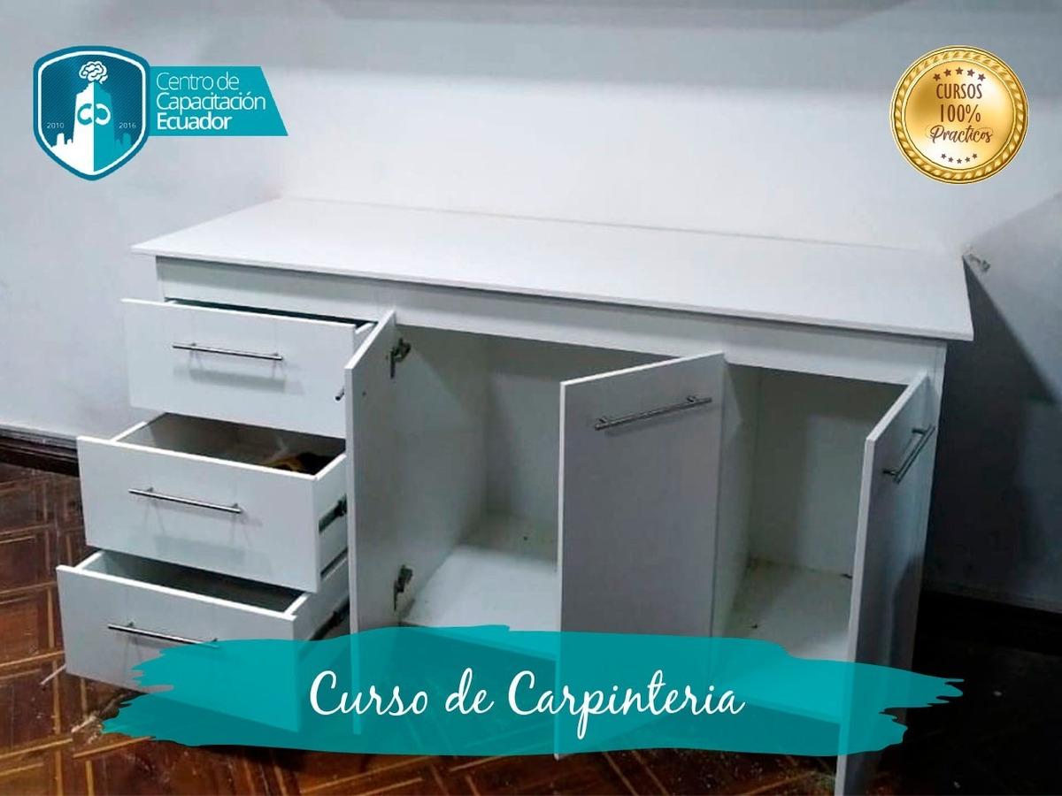 Curso De Carpinteria Y Restauracion Muebles Cocina Modulares