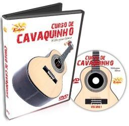 curso de cavaquinho em dvd - volume 1 - edon