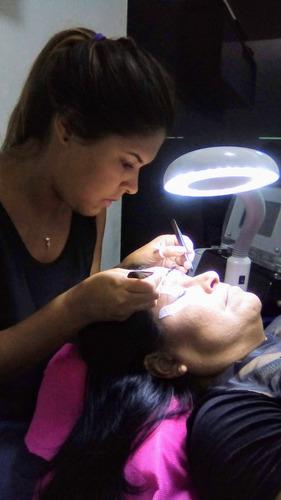 curso de cejas, microblading, pestañas, maquillaje