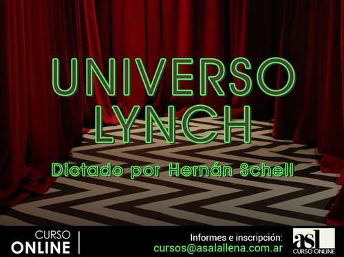 curso de cine online: universo lynch, por hernán schell