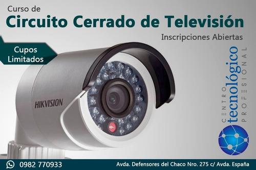 curso de circuito cerrado de televisión en san lorenzo