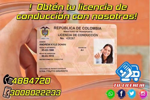 curso de conducción licencias en todas las categoias