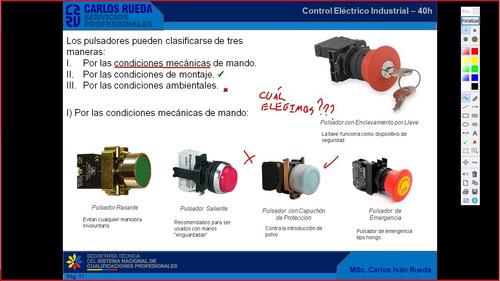 curso de control eléctrico industrial (certificado setec)