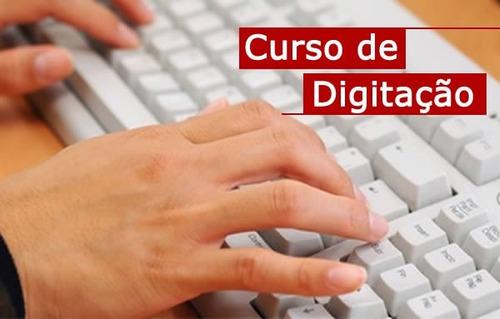 Programa curso de digitacao