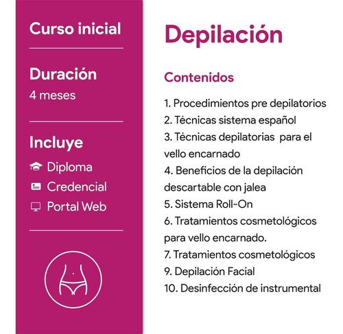 curso de depilación
