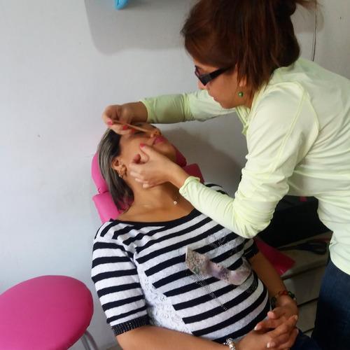 curso de depilacion cejas y corporal grupales e individual