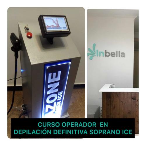 curso de depilación definitiva soprano ice
