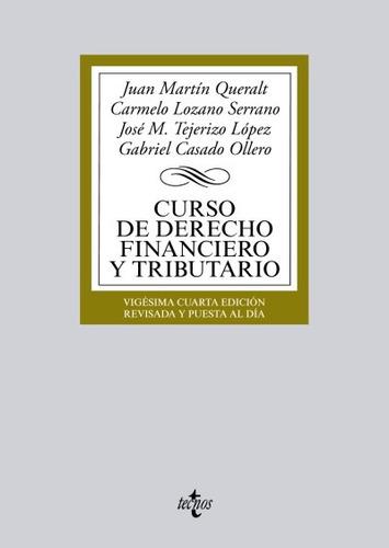 curso de derecho financiero y tributario(libro teoría sobre