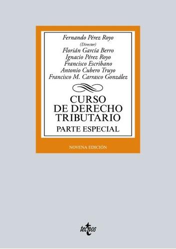 curso de derecho tributario. parte especial(libro teoría sob