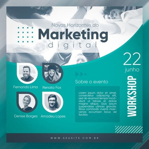 curso de design gráfico social media