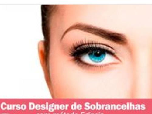 curso de designer de sobrancelhas