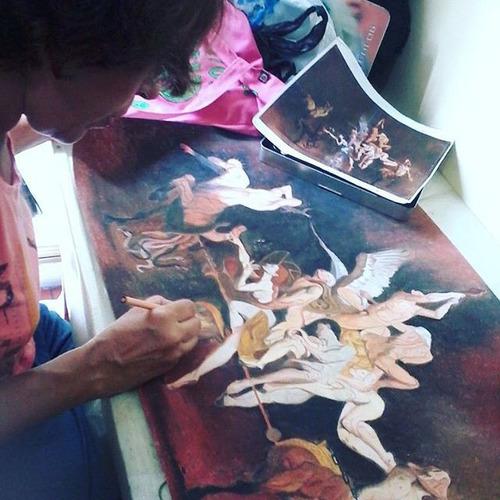 curso de dibujo y pintura para niños jóvenes y adultos