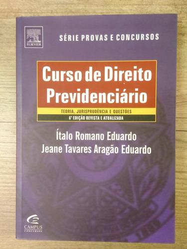 curso de direito previdenciario  italo r. eduardo
