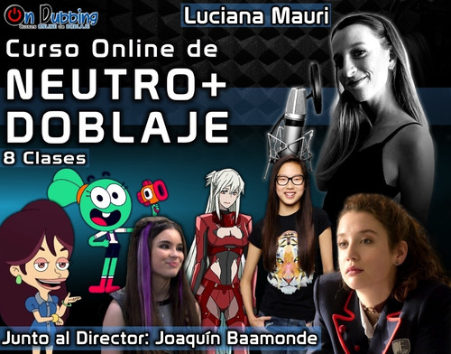 curso de doblaje latino online remoto