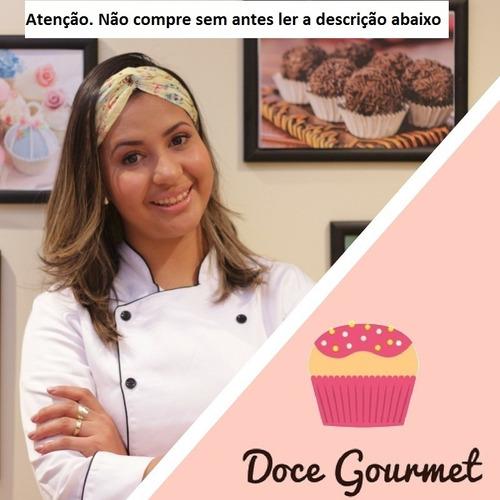 curso de doce gourmet