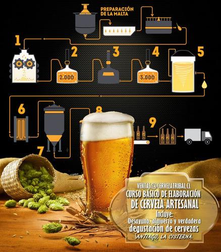 curso de elaboración de cerveza artesanal