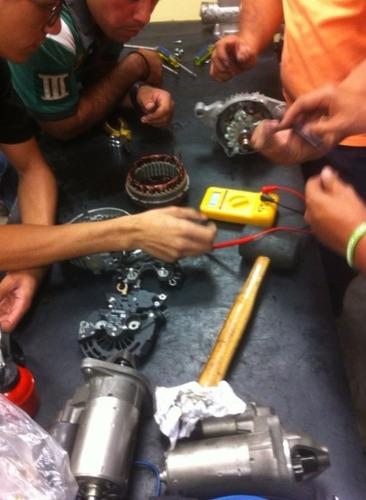 curso de electroauto y aire acondicionado automotriz y efi