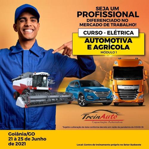 curso de elétrica automotiva e agricola 50h