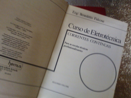 curso de eletrotécnica - 04 volumes