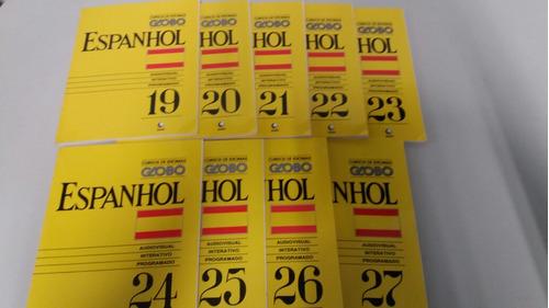 curso de espanhol globo top lever 27 fascículos