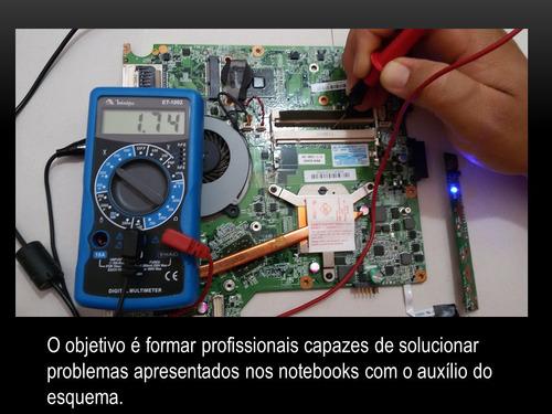 curso de esquemas de notebooks atualizados  em vídeos