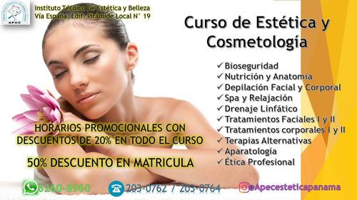 curso de estetica y cosmetologia