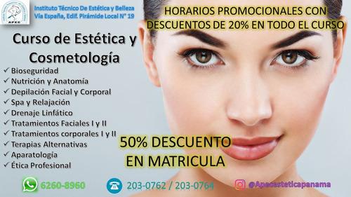 curso de estetica y cosmetologia promo mundial