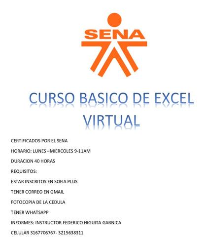 curso de excel virtual