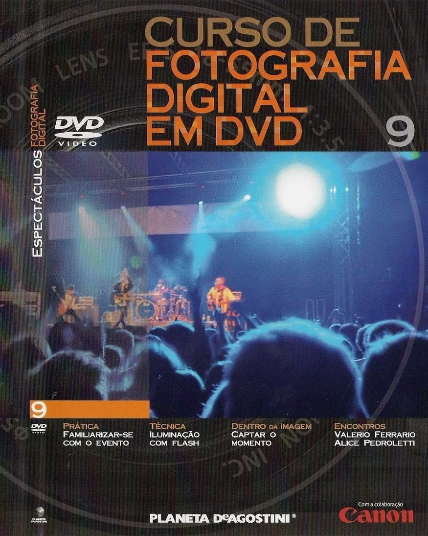 CURSO DE FOTOGRAFIA 40 DVD Planeta De Agostini