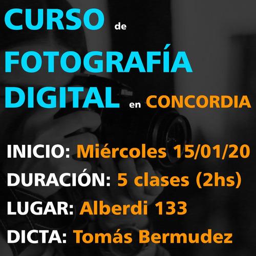curso de fotografía digital en concordia, e.r