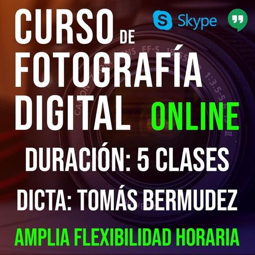 curso de fotografía digital online / dslr y celular