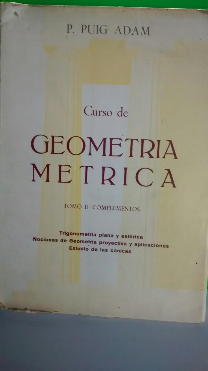 geometria metrica puig adam