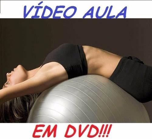 curso de ginástica com bola gigante! aulas em 2 dvds wert
