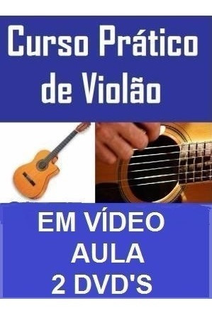 curso de guitarra + violão + canto! aulas em 6 dvds mjy