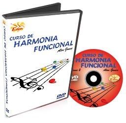curso de harmonia funcional em dvd - volume 2 - edon